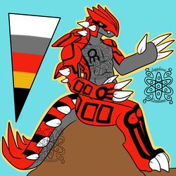 Casual Male Groudon +Design+ (SOLD)
