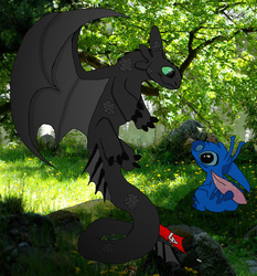 Toothless and Stitch Bonding