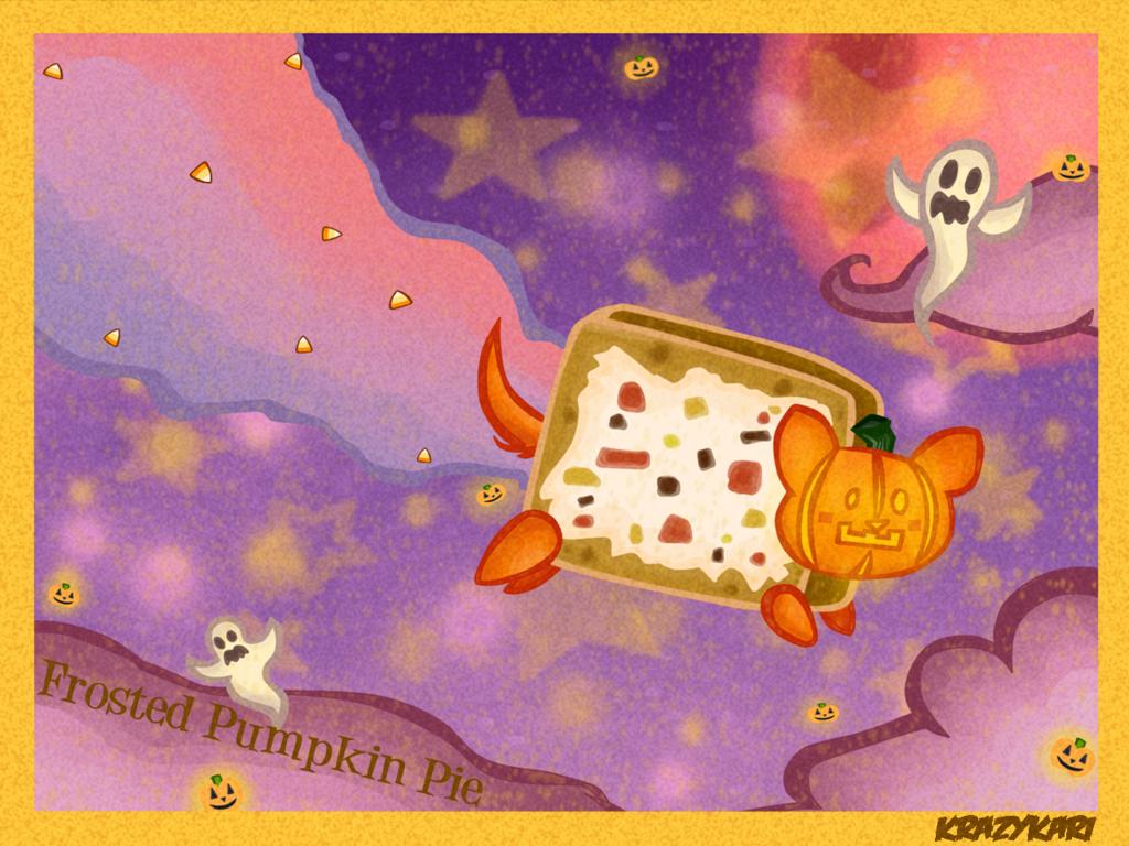 Frosted Pumpkin Pie Nyan Cat