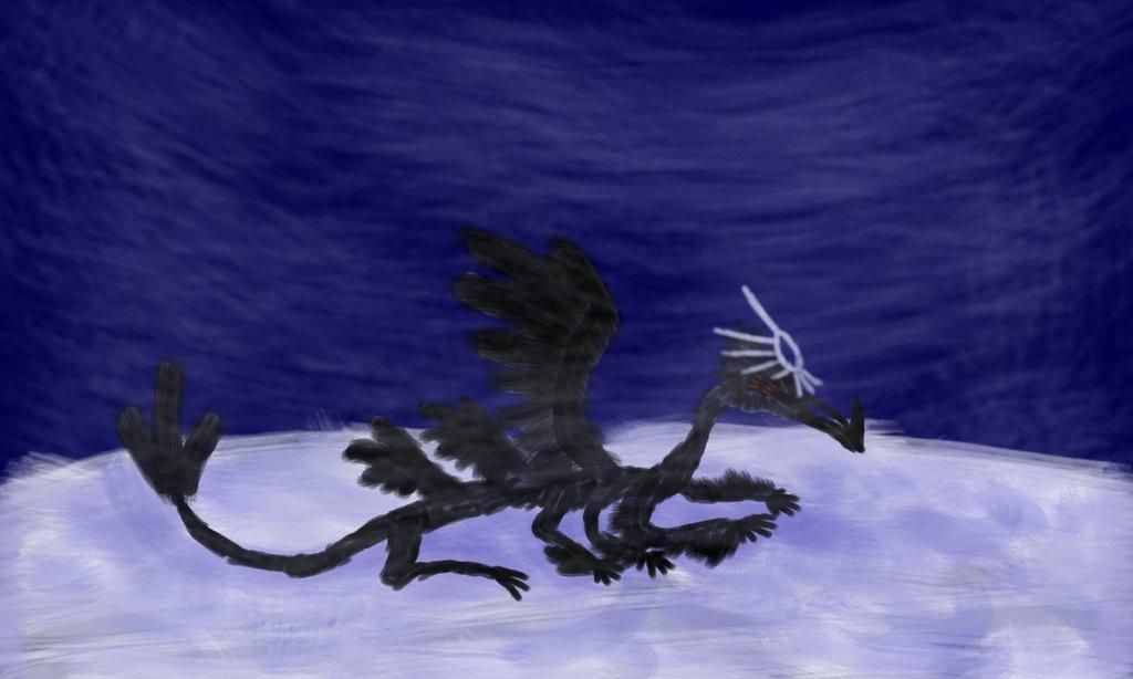 Most recent image: Ice dragon thanatos