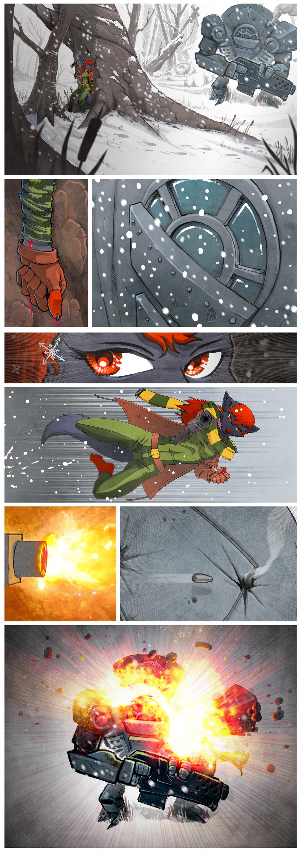 Snow Battle Strip