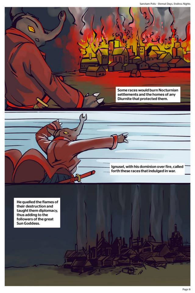 Sanctum Polis - Eternal Days, Endless Nights Page 6