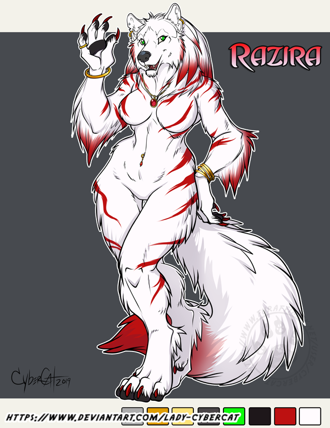 Custom Werewolf for Bobbob2