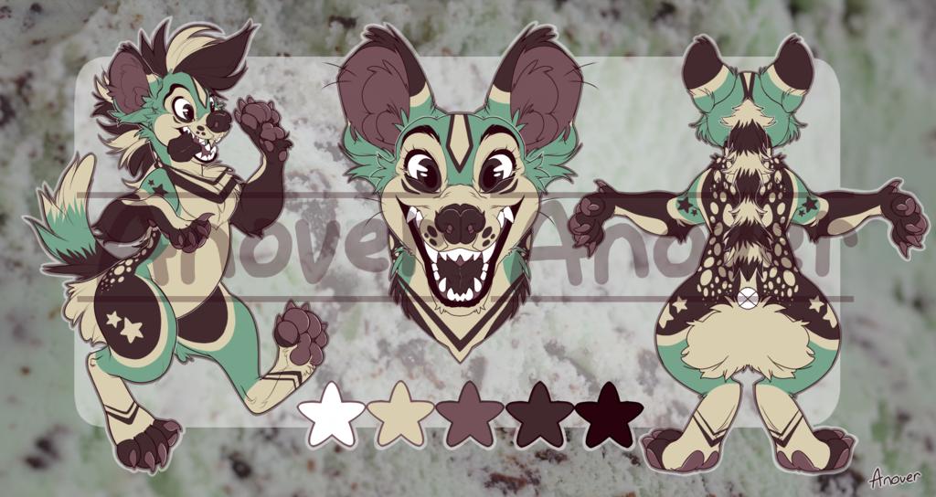 Most recent image: Mint Hyena Adopt [OPEN]