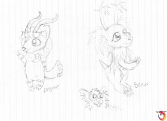 Critter Doodles