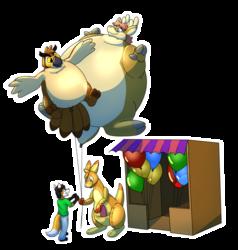 [1116] Roonin's balloon stand