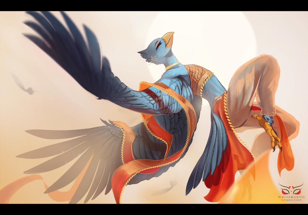 Skydancer (by WhiteMantis)