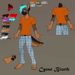 Reference for Cyran Bizeth Clothed No Jacket Clean