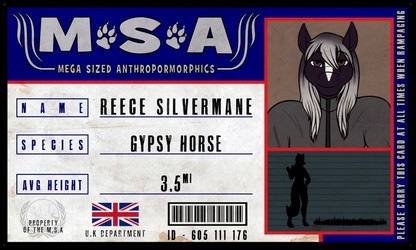 Ref: MSA Reece Silvermane