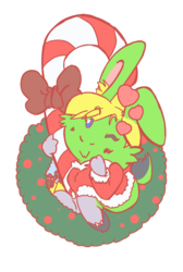 Bunnysona Ornament