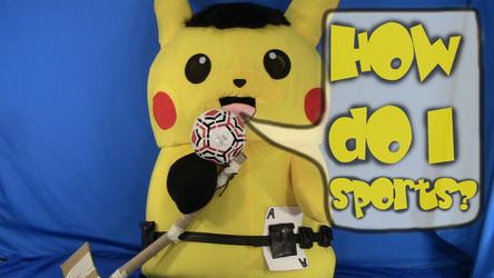 Mascot Pikachu Fursuiting: Ace Spade Sucks at Sports