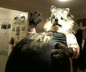 An even bigger wolf to hug