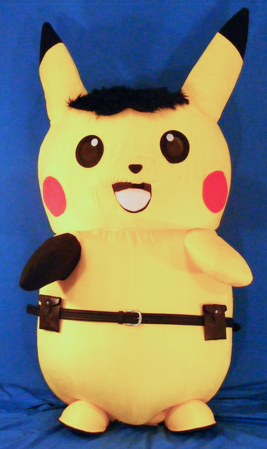 Pikachu Mascot Suit (Ace Spade Style/With Hair)
