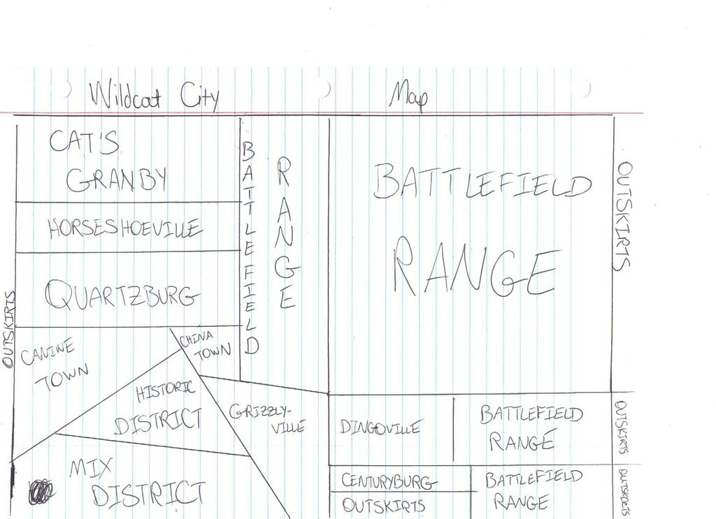 Most recent image: Map of Wildcat City (Rough Sketch)