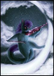 The Violinist Kitten