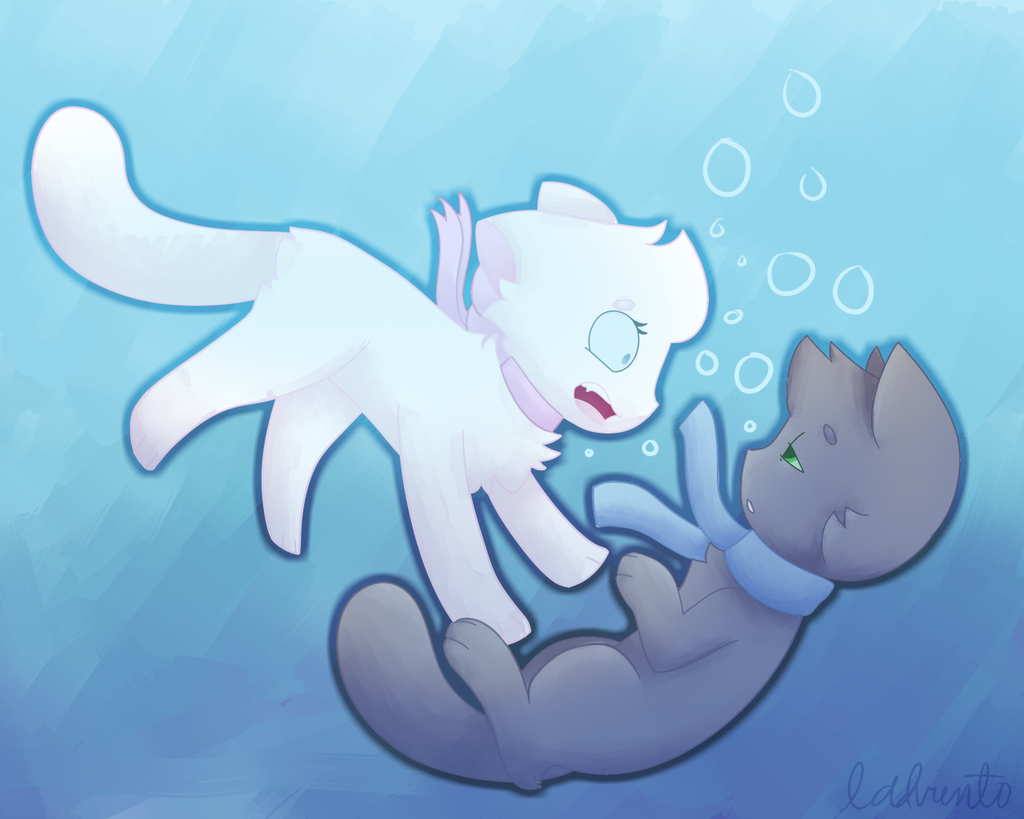 Drowning (with speedpaint!)