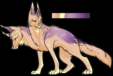 sparkly german shepherd hellhound [open]