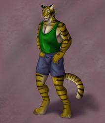 Tiger/Coloring Practice