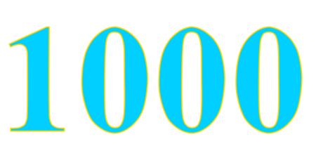 Fane Fox Comic - 1000 Milestone