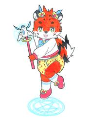 magical boy poofy