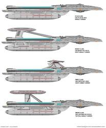 Starship Design - Atlas Class Variants