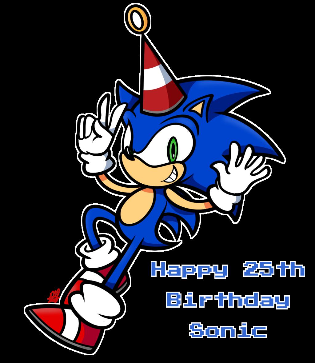 Happy 25th Birthday Sonic ~