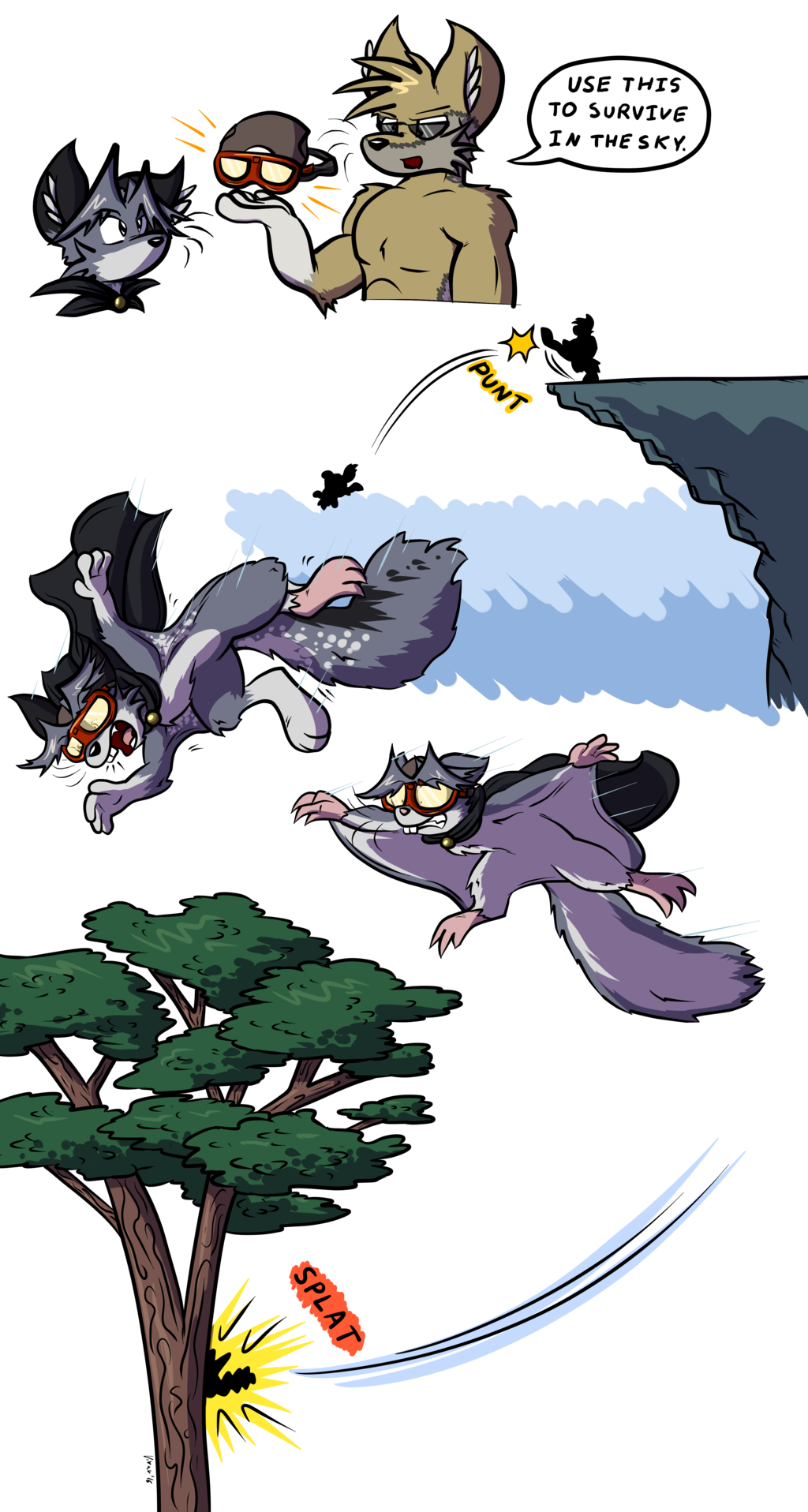 Flying Squirrel Goggles