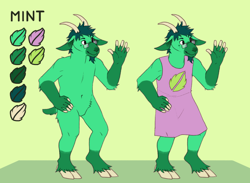 Commission - Mint Reference
