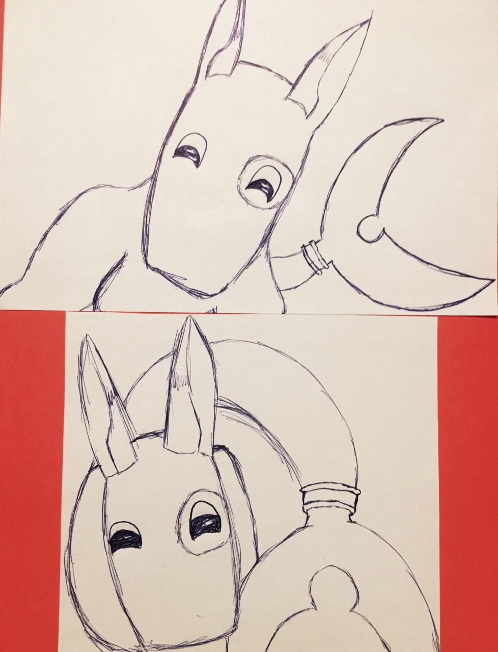[My Art] Pen Doodles - Talia