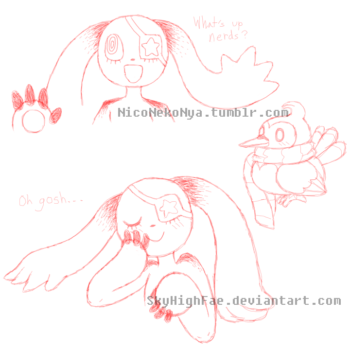 Starly doodles