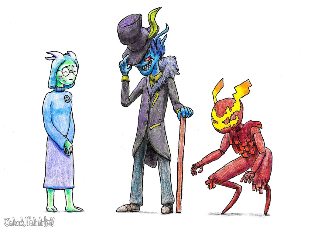 Character Redesigns 2