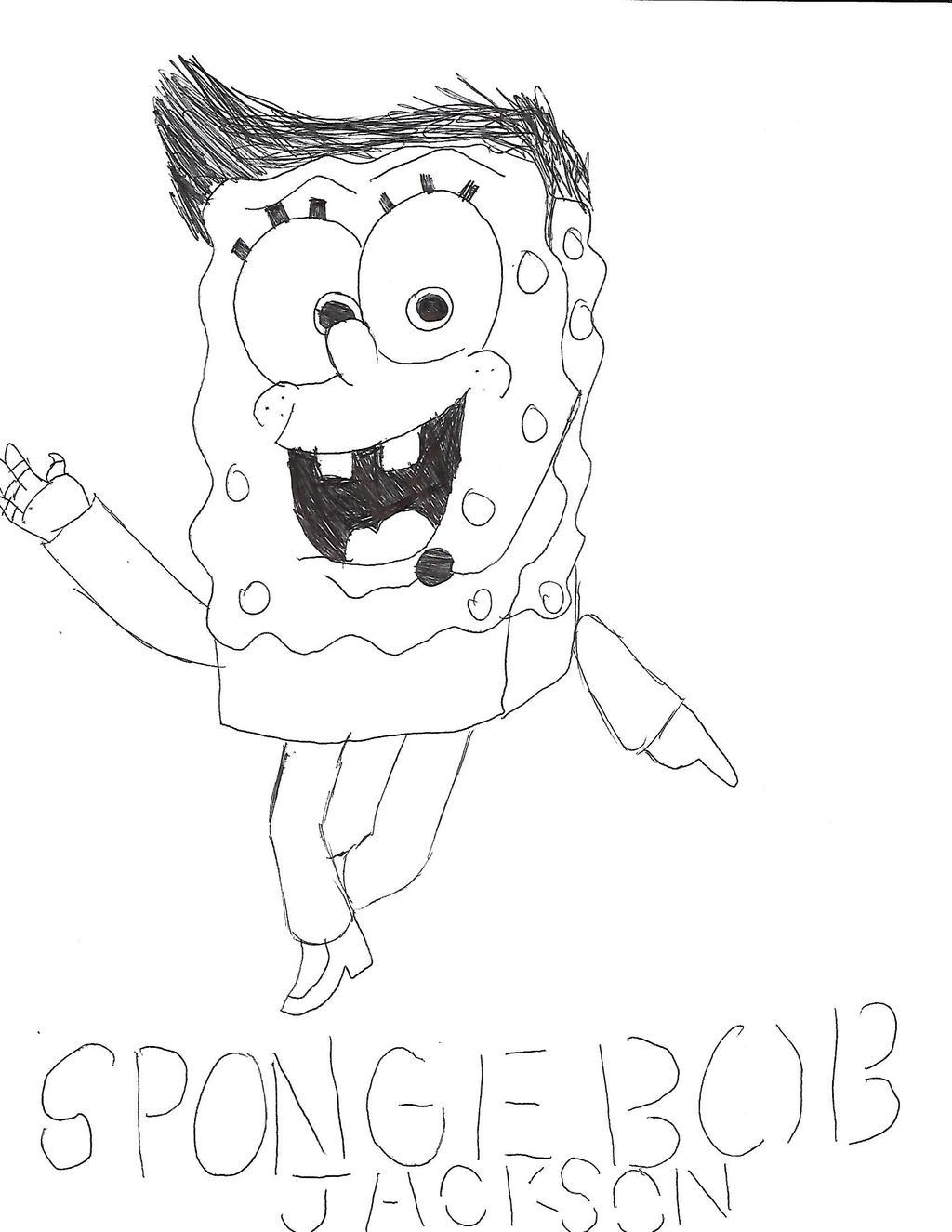 SpongeBob Jackson Badge