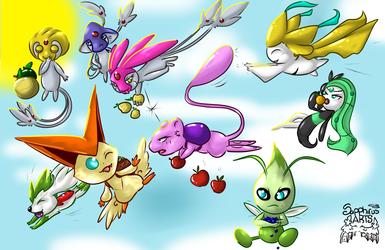 Legendary fruit race +Pokemon+