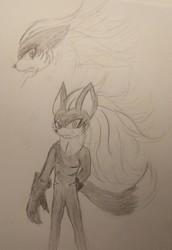 Sonic Forces - Infinite [Fan Art]