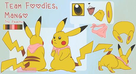 Reference: Mango the Pikachu