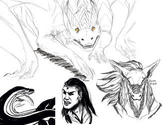Inktober Sketches 2