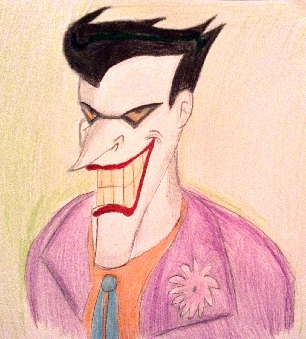 Batman animated series Joker artwork