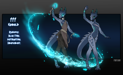 [DnNPC] Bluefire Kobold