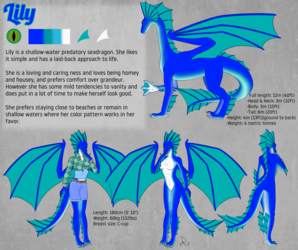 Lily Reference Sheet (SFW)