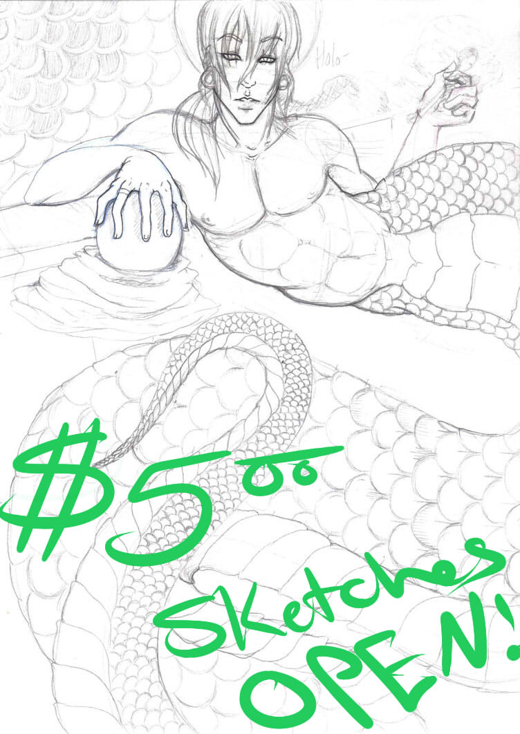 $5 IA SKETCH COMMISSIONS ARE NOW OPEN