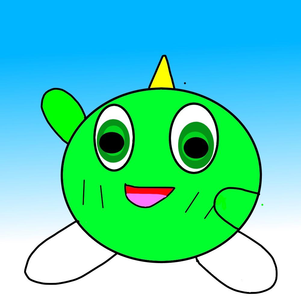 A Mr. Gimmick / Yumetaro Drawing