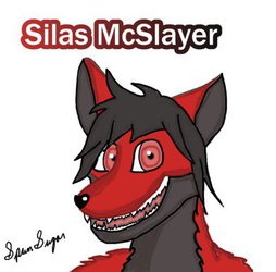 Silas McSlayer, drawn by SpunSugar