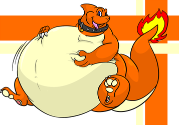 A Well-Rounded Charmeleon - by Puffedup
