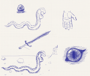 throwback - first tablet sketches dump