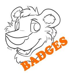 Badges Open