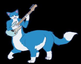 Fritti taur guitar (pwyw commission)