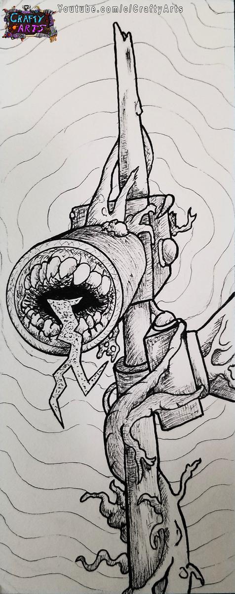 SirenHead Head INKEd