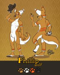 Ref sheet - Phillip wolf
