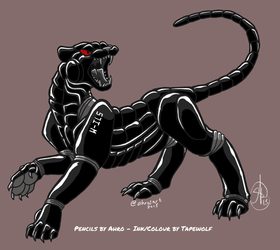 I am a panther, hear me rawr!