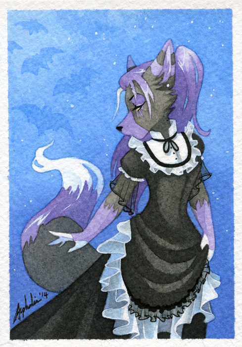 Mini Portrait - Alice